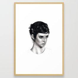 Krysten Ritter Framed Art Print