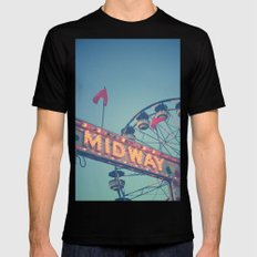 Midway Mens Fitted Tee Black MEDIUM