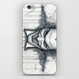 Crazy - Ode to The Joker iPhone Skin