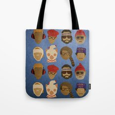 Wes Anderson Hats Tote Bag