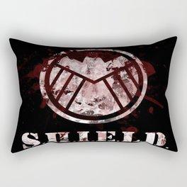 splatter S.H.I.E.L.D.  Rectangular Pillow