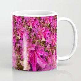 Sweetgum Fractal in Pink Coffee Mug