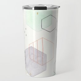 Hexagon Scatter Travel Mug