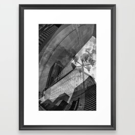 Montreal city Framed Art Print