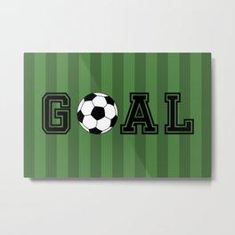 Goal Metal Print
