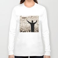 concert Long Sleeve T-shirts featuring concert by fscVisuals