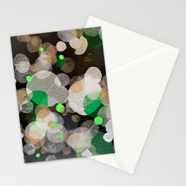 perplexed green Stationery Cards