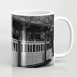 Narrow Gauge bw Coffee Mug