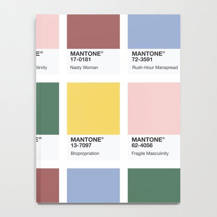 MANTONE® Colour Palette Notebook