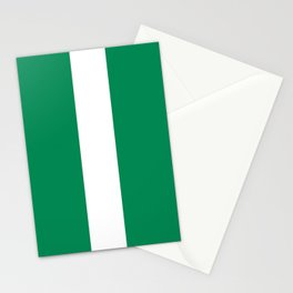 Nigerian Flag - Authentic High Quality HD Image Stationery Cards
