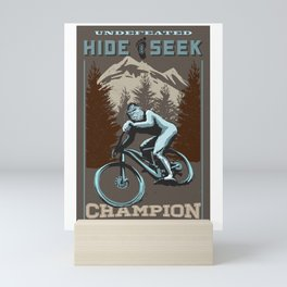 hide and seek champion Mini Art Print