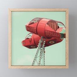 Hold On Framed Mini Art Print