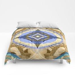 Elegant Meditation Diamond Mandala Comforters