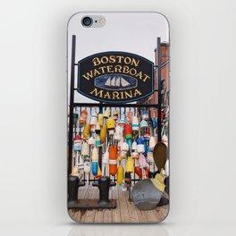 Boston Waterboat Marina iPhone Skin