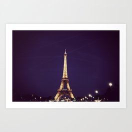 Eiffel Tower - Paris Art Print