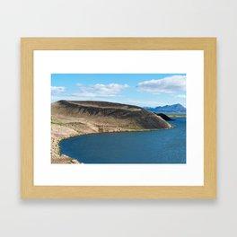 Iceland: Skutustadagigar pseudocraters Framed Art Print