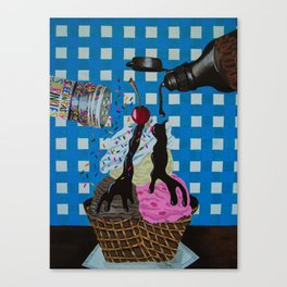 We all scream for Canvas Print
