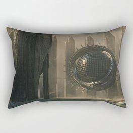 Ancient Extraterrestrial Technology Rectangular Pillow