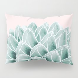 Succulent splendour - blush Pillow Sham