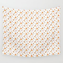 Mesozoic Extinction Event Pattern Wall Tapestry