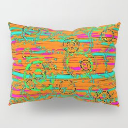 Loopy in Groovy Vivid Pillow Sham