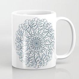 Mandala • Fuck it • grey Coffee Mug