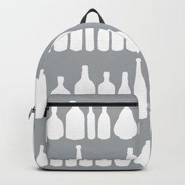 Bottles Grey Backpack