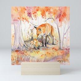 My Garden in Autumn Mini Art Print