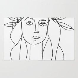 Head 1946 Abstract Fantasy Print Rug