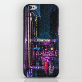 Midnight at Tiffany iPhone Skin