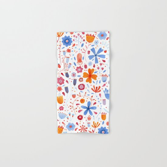 English Meadow Hand & Bath Towel