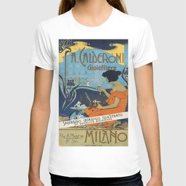 Vintage poster - A. Calderoni Gioielliere T-shirt