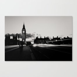 London noir ...  Canvas Print