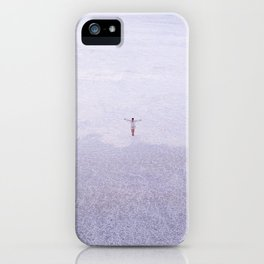 WHITENESS iPhone Case