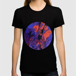 Blue, Teal and Orange Fantasy T-shirt