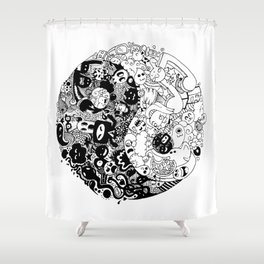 Sid-Sang Shower Curtain