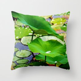 Lily Beads SQ Throw Pillow