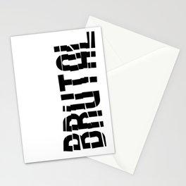 Brutal Studio Red Logo Stationery Cards