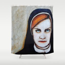 Sister Jude: Saver of Souls Shower Curtain