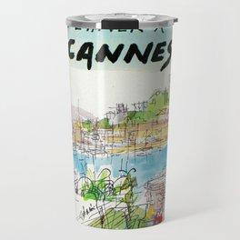 Winter In Cannes Travel Mug