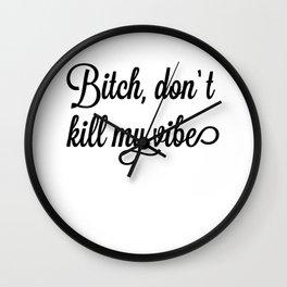 My Vibe Wall Clock