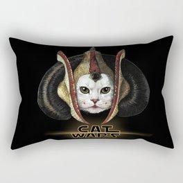 Cat Wars Amidala Rectangular Pillow
