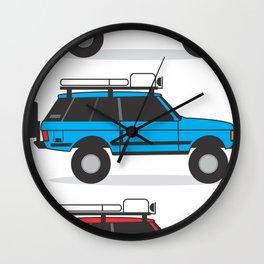 Range Rover Classic Wall Clock