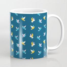 Dashland  Doves Navy Coffee Mug