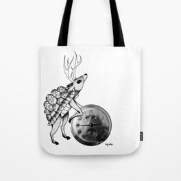 Ciervo. Deer. Cerf. Tote Bag