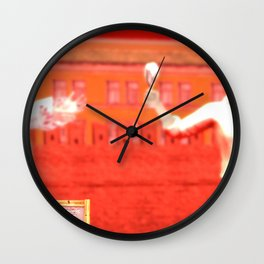 SquaRed: No country for musicman Wall Clock