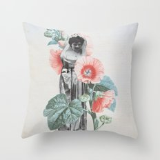 Botanical Bride Throw Pillow