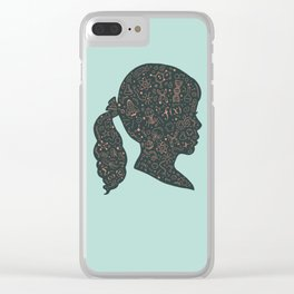 In a Science State of Mind 2 Clear iPhone Case
