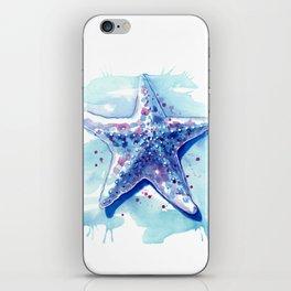 Starfish Waters I iPhone Skin