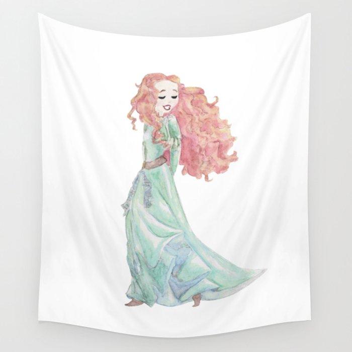 Princess 38 Wall Tapestry